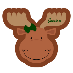 Monty the Moose Happy Blankie (3 Sizes Available)