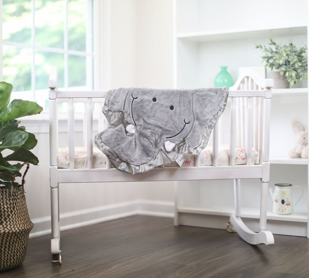 Small Rumble the Elephant Happy Blankie