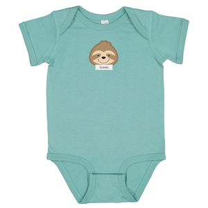 "Snooze Sage ""Loved"" Bodysuit"