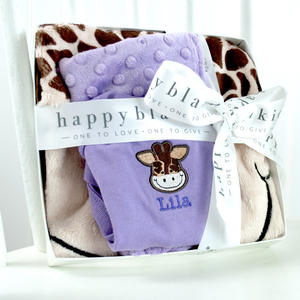 Stretch the Giraffe Happy Gift Set