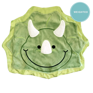 Chomp the Dinosaur Happy Blankie [Weighted]