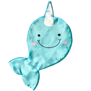 Echo the Narwhal Satin Mini