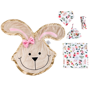 Hop Summer Poppy Swaddle Set