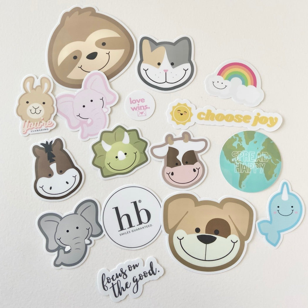 Full of Happiness Sticker Set