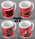 The Speedy Collection- Pack of 4 Mugs