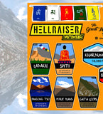 Great Himalayan Road Trip Sticker - HellRaiser MotoWear