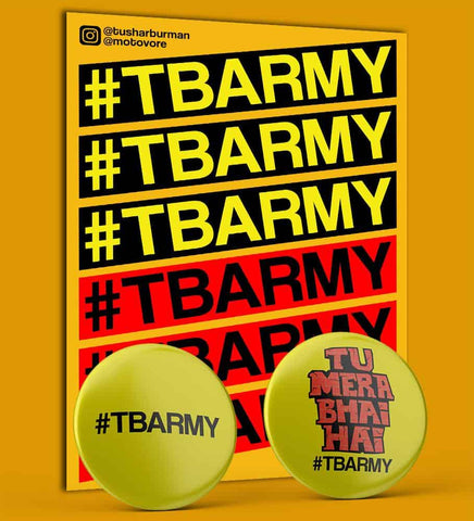 #TBARMY BADGES & DECAL SET