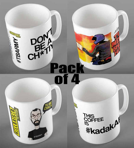 #TBARMY Collection - Pack of 4 Mugs