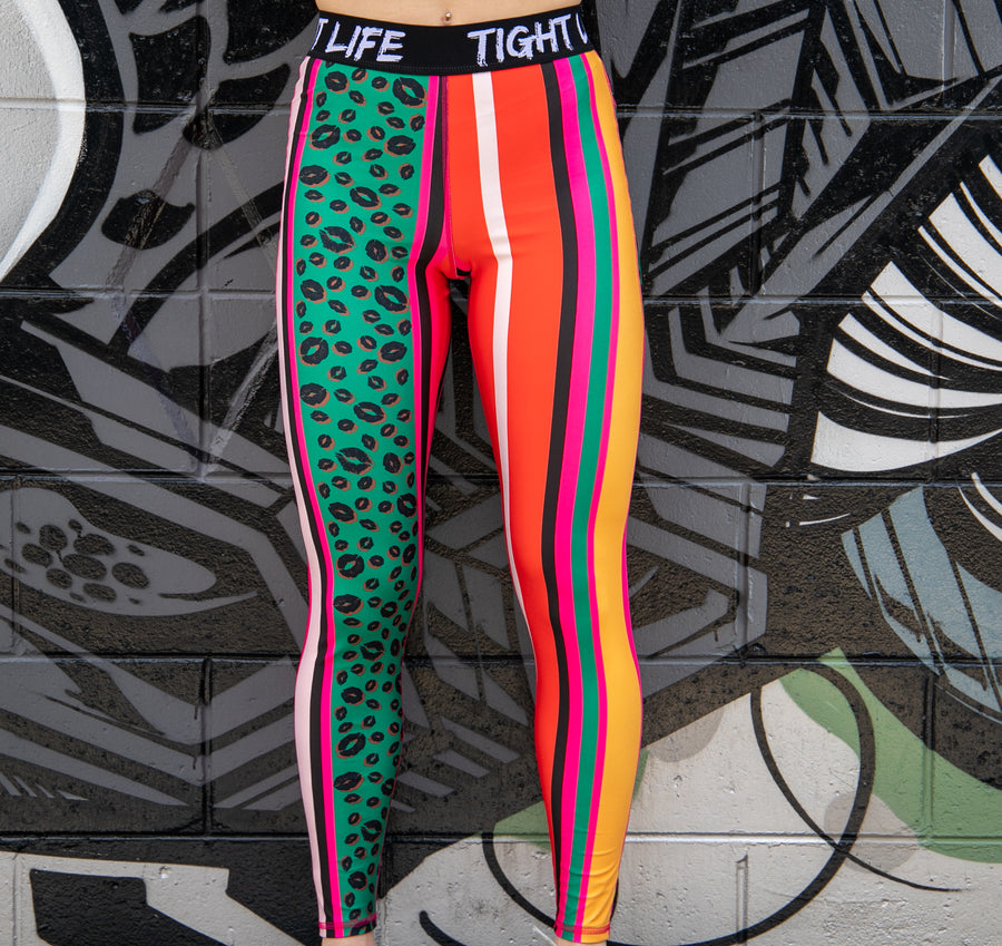 Tiger Queen Long Tights with Pockets