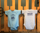 """Raw Milk"" Onesies"