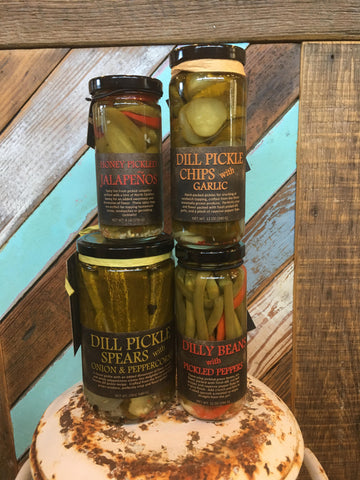 Pickled Goods by Copper Pot & Wooden Spoon