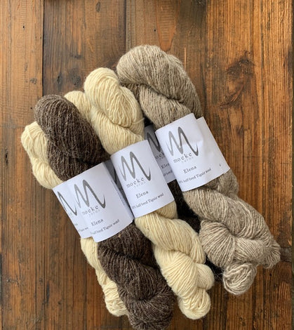 Moeke Yarns Elena Brown - Back in Stock