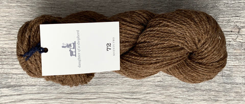 Castlemilk Moorit DK - Daughter of a Shepherd - Farm to Cable Yarns