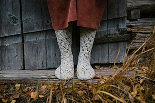 Casual Lace Sock Kits (52 Weeks of Sock) - Isabell Kraemer & Brusca DK - Farm to Cable Yarns