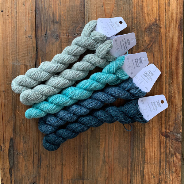 Davvi Mitten Kits - The Little Grey Sheep and Laine Magazine - Farm to Cable Yarns