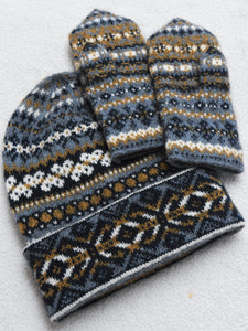 Double Up Hat & Mitts Set