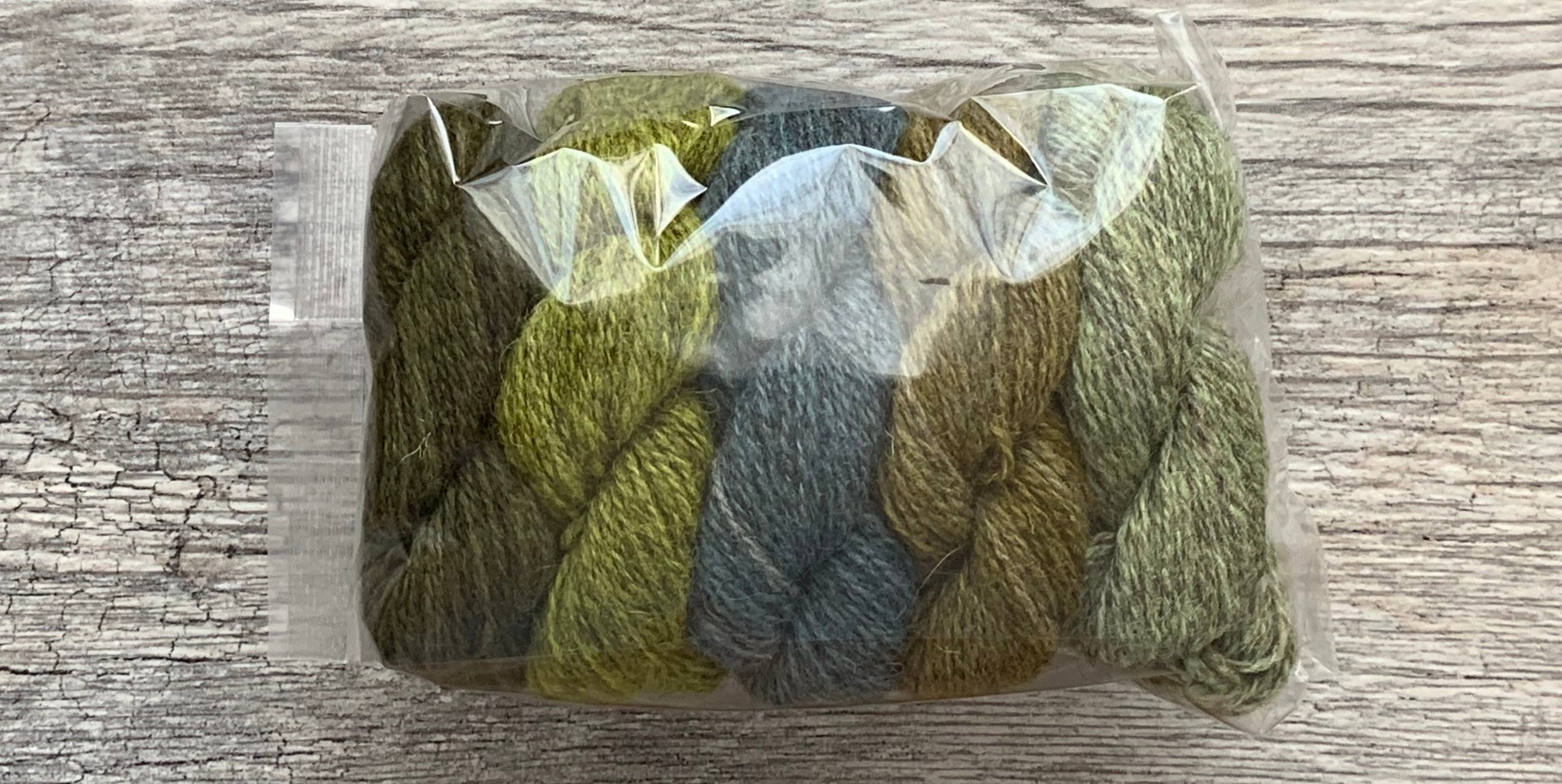 The Little Grey Sheep Hampshire 4 ply - Mini Skein sets - Farm to Cable Yarns