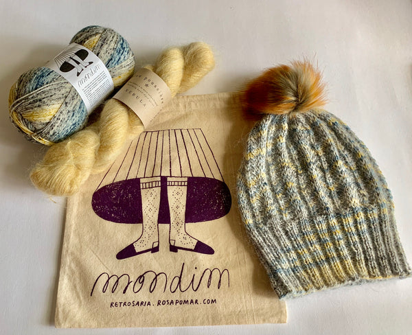 How Quiet Hat Kits - Farm to Cable Yarns