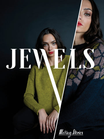 JEWELS - MAKING STORIES - NOW IN STOCK! - Farm to Cable Yarns