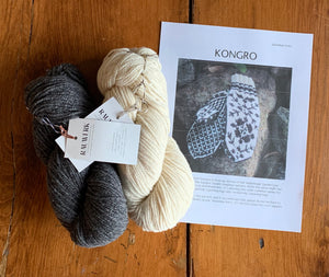Kongro Mitten Kits - Skeindeer and Rauwerk - Farm to Cable Yarns