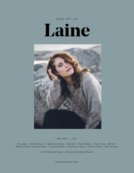 Laine Magazine Issue 9 - 1833 (FALL/WINTER 2019) - Farm to Cable Yarns