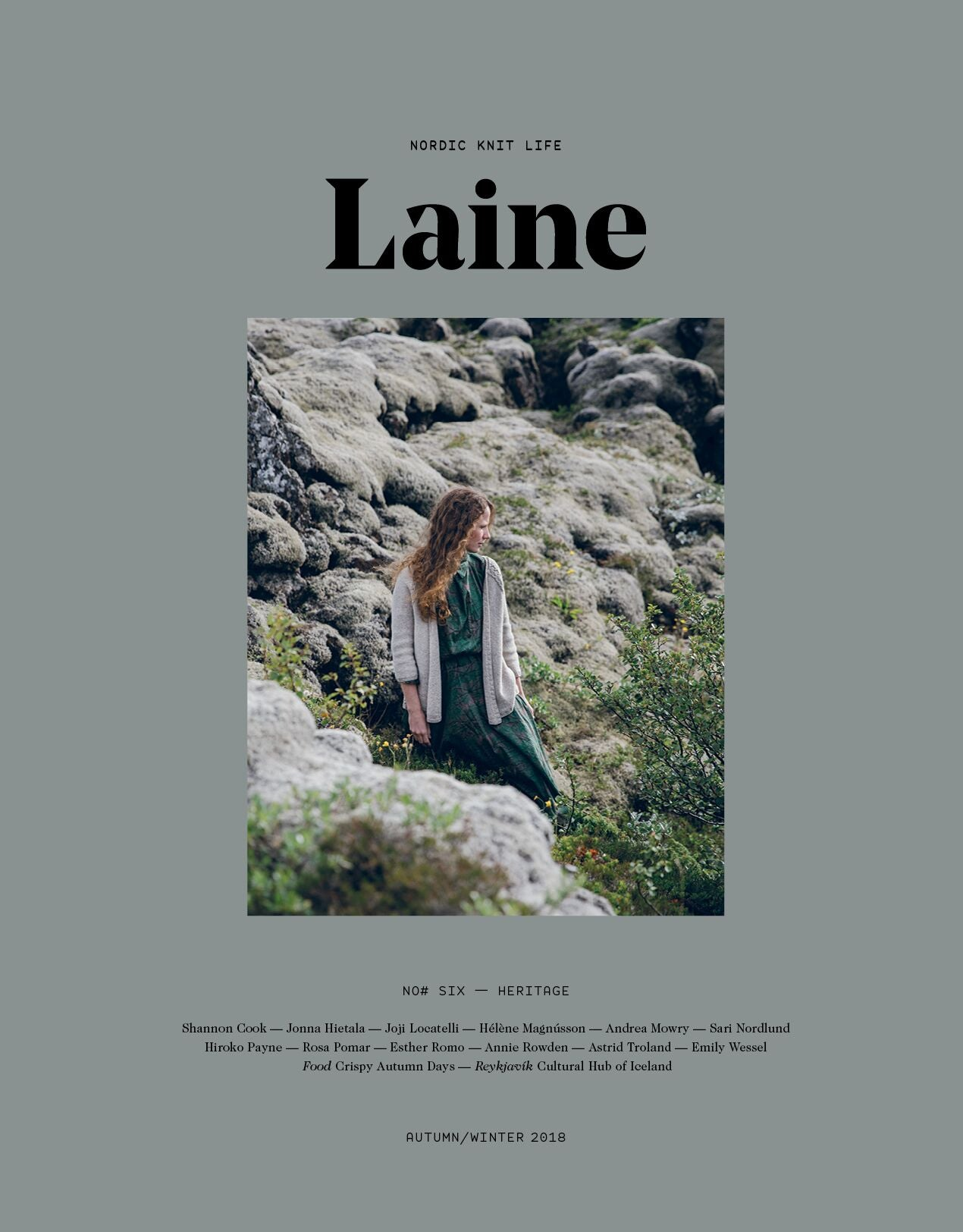 Laine Magazine Issue 6 - Heritage (Autumn 2018) PRE ORDER NOW - Farm to Cable Yarns