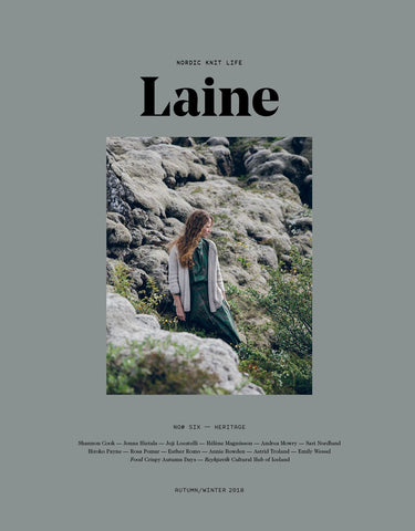 Laine Magazine Issue 6 - Heritage (Autumn 2018) RESTOCKED! - Farm to Cable Yarns