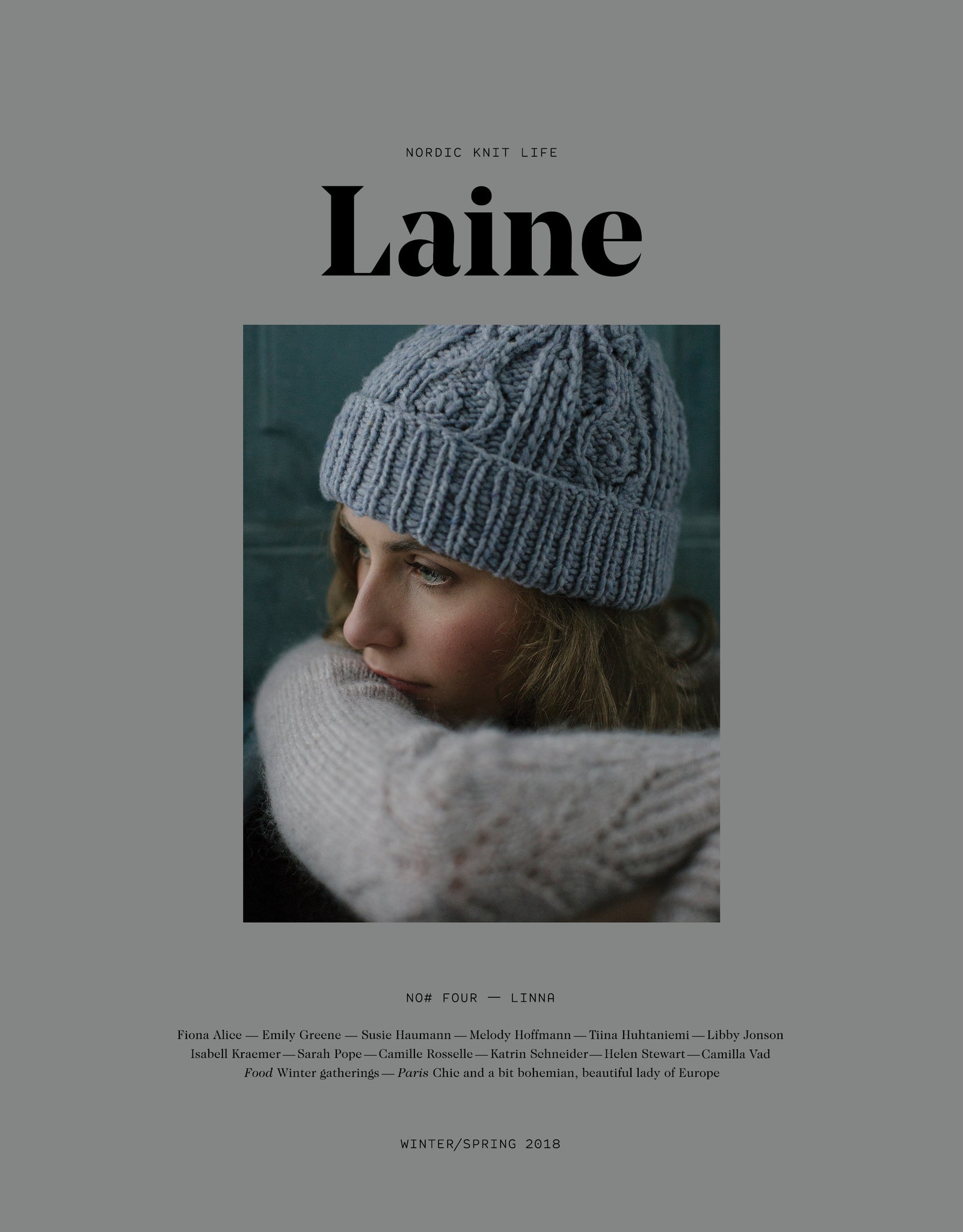 Laine Magazine - Issue 4 (Winter/Spring 2018) - Farm to Cable Yarns