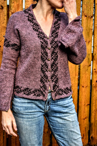 Lamaline Cardigan Kits - Hillesvåg Sølje and Jennifer Beale - Farm to Cable Yarns