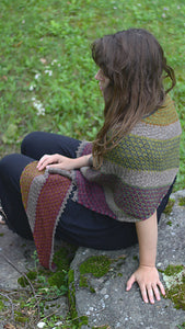 Lamimi Shawl Kit - Vovó - Farm to Cable Yarns