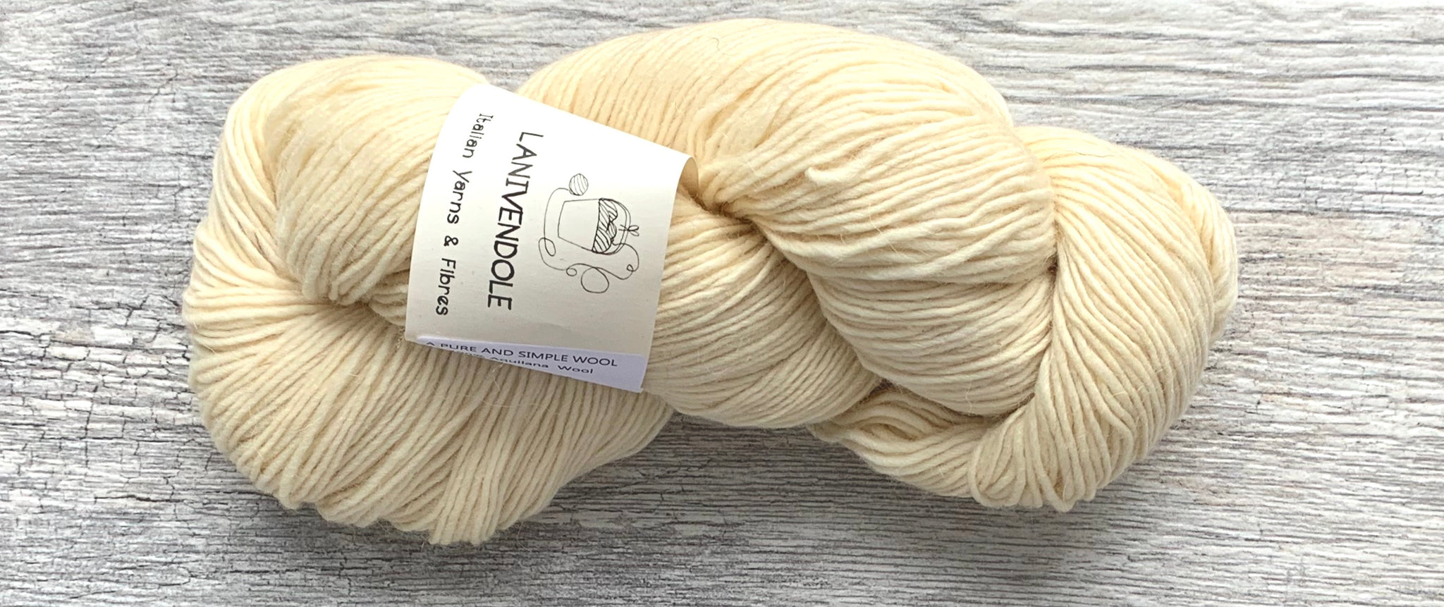 A Pure & Simple Wool - Lanivendole - Farm to Cable Yarns