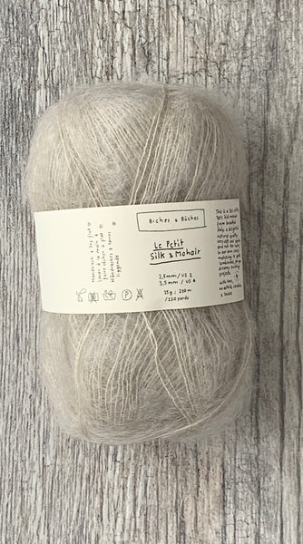 BICHES & BÛCHES - LE PETIT SILK & MOHAIR - Farm to Cable Yarns
