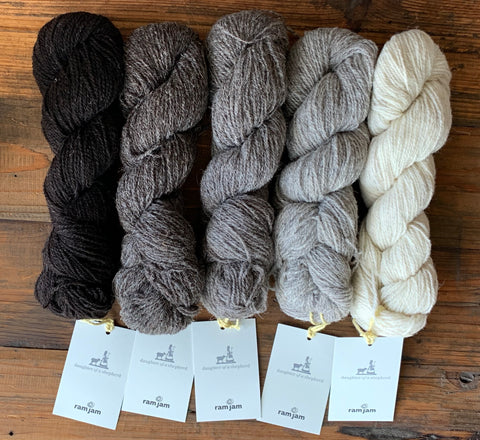 Ram Jam Sport - Daughter of a Shepherd - Farm to Cable Yarns