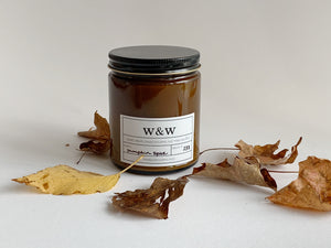 Wax & Wool - Hand Poured Soy Candles - New! - Farm to Cable Yarns