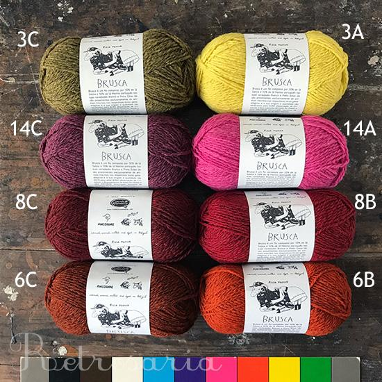Manou Sweater Kits - Isabell Kraemer and Brusca by Retrosaria - Farm to Cable Yarns