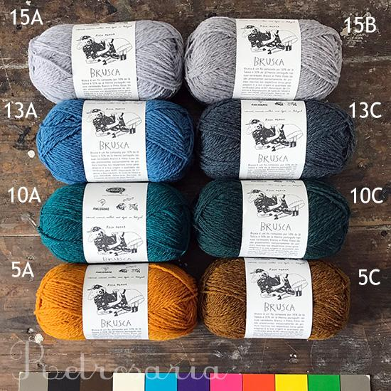 Brusca DK - Retrosaria - Farm to Cable Yarns