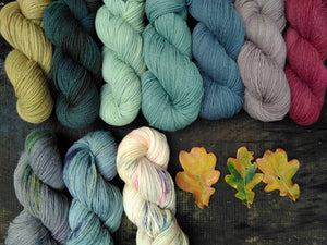 Hey Mama Wolf Yarns - Schafwolle #03 - Farm to Cable Yarns