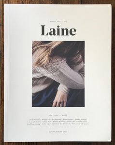 Laine Magazine - Issue Three autumn/winter 2017 - Farm to Cable Yarns