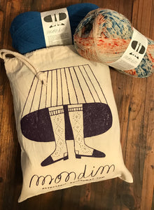 Mondim Project Bag- BACK IN STOCK! - Farm to Cable Yarns
