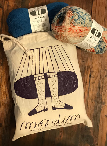 Mondim Project Bag - Farm to Cable Yarns