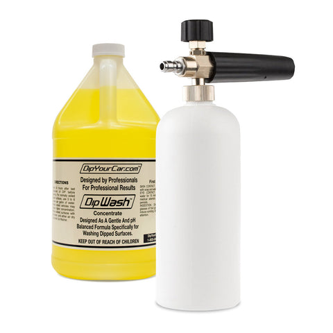 Dip Foam System Kit® (Includes Gallon of Dip Wash and Foam Cannon)