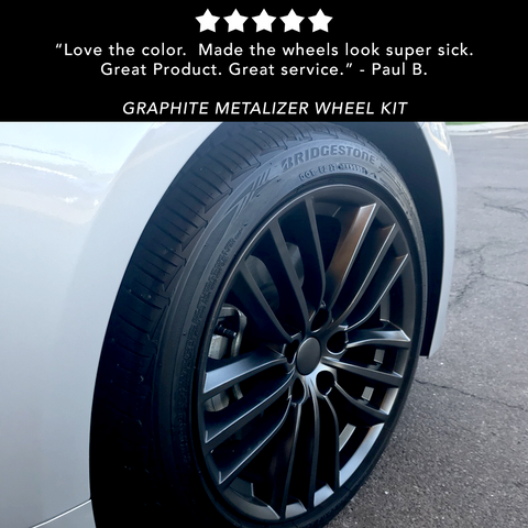 Graphite Metalizer Wheel Kit