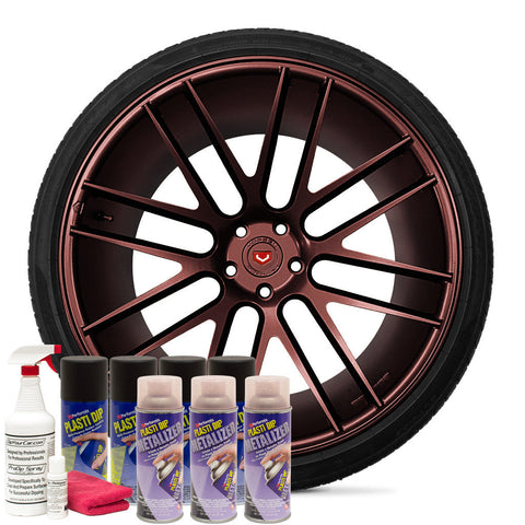 Red Metalizer Wheel Kit