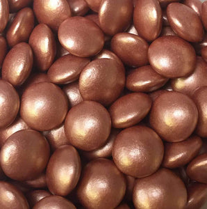 Copper Glimmer Chocolate Beans
