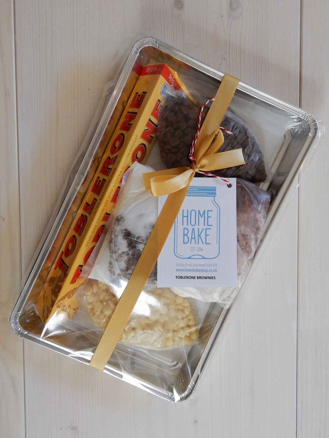 Toblerone Brownie Kit