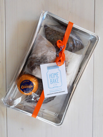 Chocolate Orange Brownie Kit