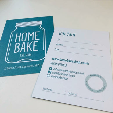Home Bake Gift Card