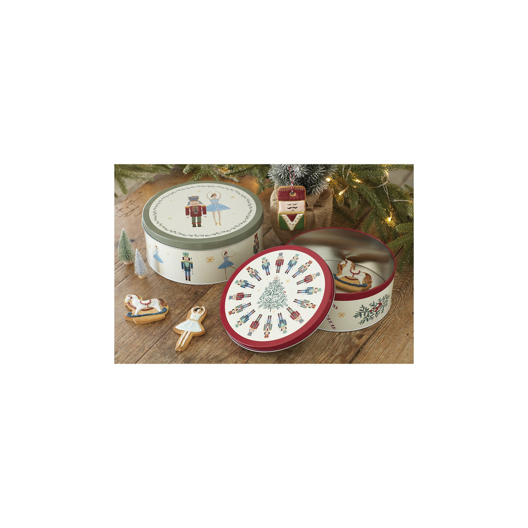 The Nutcracker Collection Storage Tins x2
