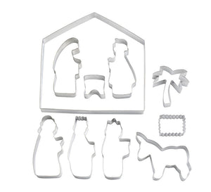 Nativity Scene Cutter Set