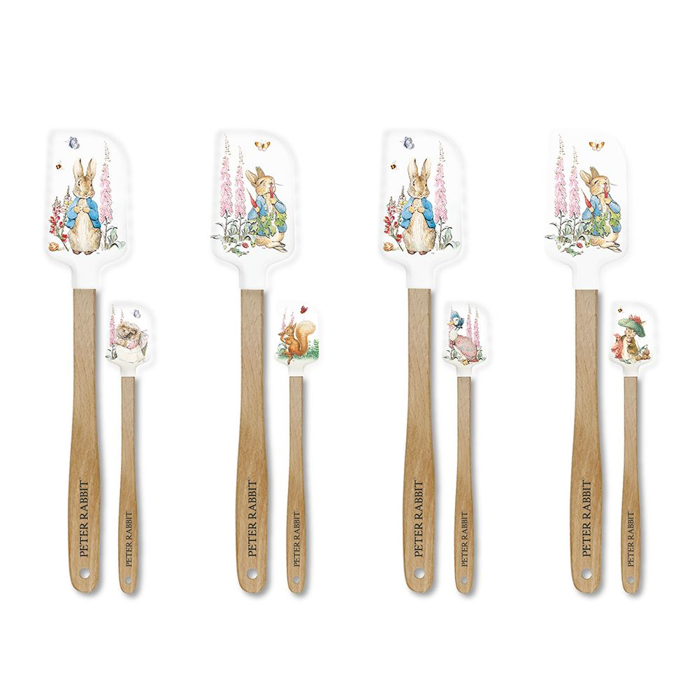 Peter Rabbit Spatulas x 2